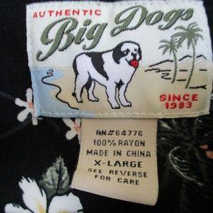 BIG DOGS Shirts - Big Dogs It`s 5 O`Clock Somewhere Button Down